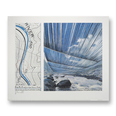 Christo, 'Over the river, project for the Arkansas river, State of Colorado', 1999