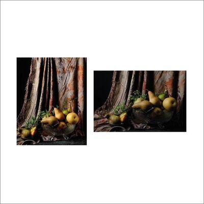 Dora Franco, 'Peras con cortina marroquí II & I. Diptych.', 2015