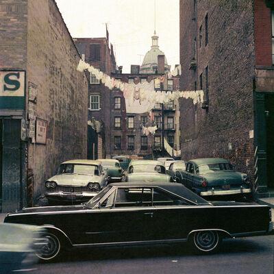 Mario Carnicelli, 'Black 1967 Plymouth Belvedere, Brooklyn, New York', 1967