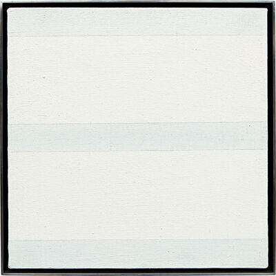 Agnes Martin, 'Untitled', ca. 1995.