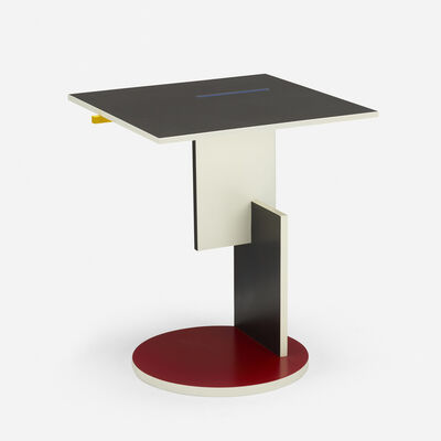 Gerrit Thomas Rietveld, 'Schroeder occasional table', 1924