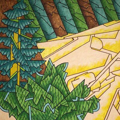 Easton Pribble, 'Stonington Spruce and Granite', 1999