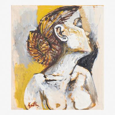 Renato Guttuso, 'Untitled (Head of a Woman)'