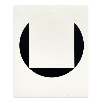 Leon Polk Smith, 'Quadrat im Kreis', 1987