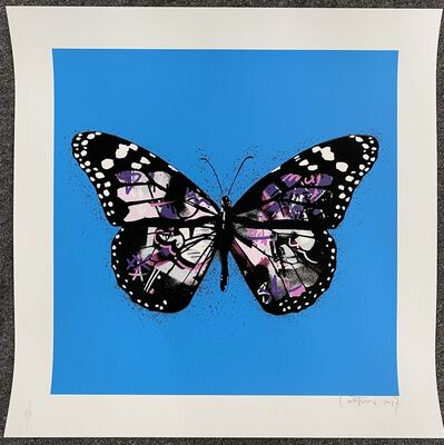 Martin Whatson, 'Butterfly (Purple) (Special Edition)', 2017
