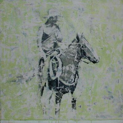 Nicole Charbonnet, 'Cowboy (green)', 2003