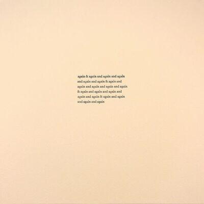 Alyson Provax, 'Again & Again', 2012