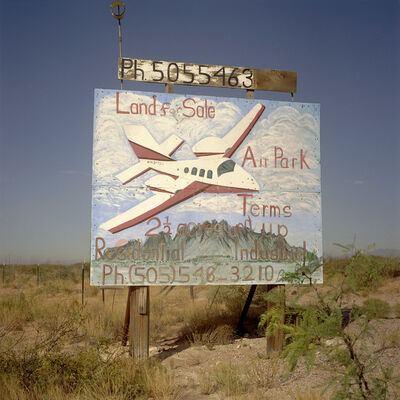 Steve Fitch, 'Between Los Cruces and Deming on I-10 New Mexico', 2005