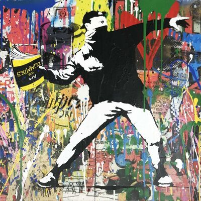 Mr. Brainwash, 'Banksy Thrower 6 (2018)', 2018