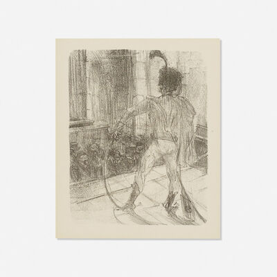 Henri de Toulouse-Lautrec, 'Schlome Fuss in the Synagogue, from Au Pied du Sinai', 1897