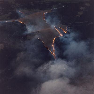 Terry Evans, 'Prairie Fire Smoke, Ottawa County KS, April 27, 1990', 1990
