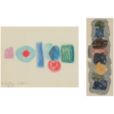 Dorothy Dehner, '(i) Untitled (ii) Untitled', 1963