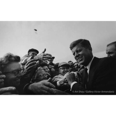 Art Shay, 'Friendly SD Crowd for JFK, 1960', 2017