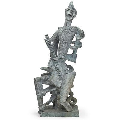 Ossip Zadkine, 'Arlequin Hurlant', 1956