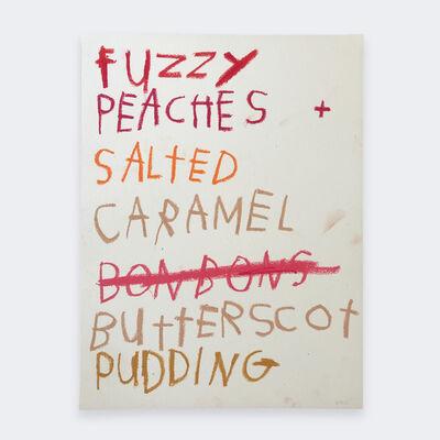 Gino Belassen, 'Fuzzy Peaches. Salted Caramel. Butterscotch.', 2020