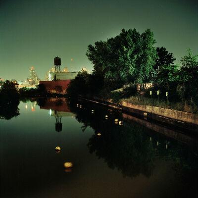 Miska Draskoczy, 'Green Canal', 2012