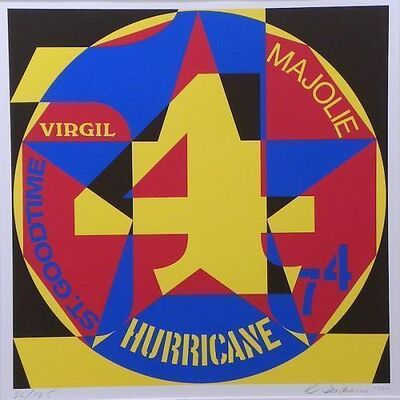 Robert Indiana, 'Decade Autoportrait-Hurricane', 1980