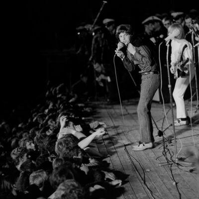 Thomas Billhardt, 'Rolling Stones in der Waldbühne', 1965