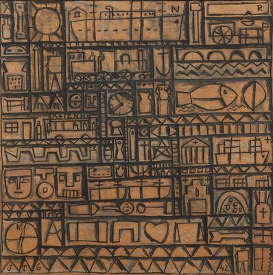 Joaquín Torres-García, 'Arte constructivo universal [Universal Constructive Art]', 1942