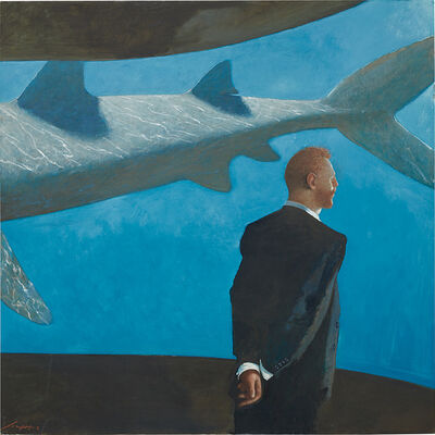 Julio Larraz, 'His Last Dream, 29 July'
