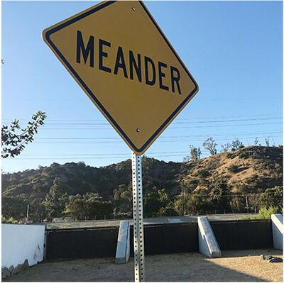 "Scott Froschauer, '""Meander"" - Contemporary Street Sign Sculpture', 2017"