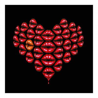 Otto Schade, 'Love Kiss Orange', N/A