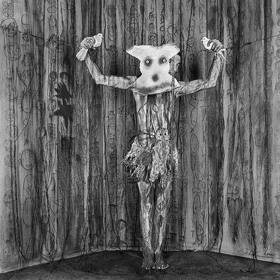 Roger Ballen, 'Alter Ego (from Asylum series)', 2010