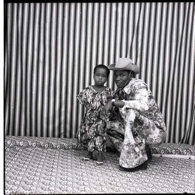 Malick Sidibé, 'Avec mon Enfant', 1977