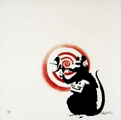 Banksy, 'Radar Rat', 2004