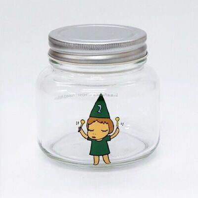 Yoshitomo Nara, 'Girl Storage Jar (320ml, Green)', 2017