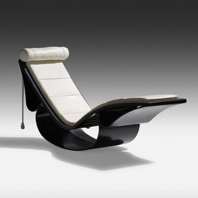 Oscar Niemeyer, 'Rio chaise longue', c. 1978