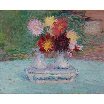 Henri Martin, 'Dahlias bouquet', circa 1930