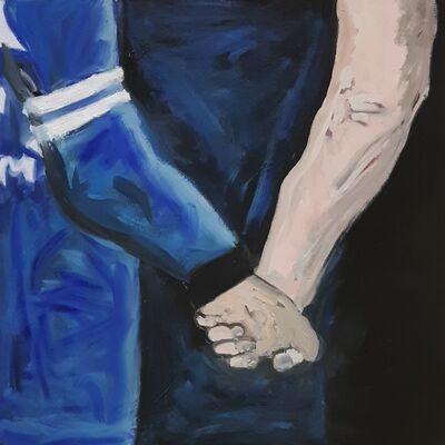 Tess Martens, 'Here, Holding Hands', 2019