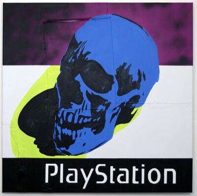 Michael Pybus, 'Playstation (Cobalt)', 2019