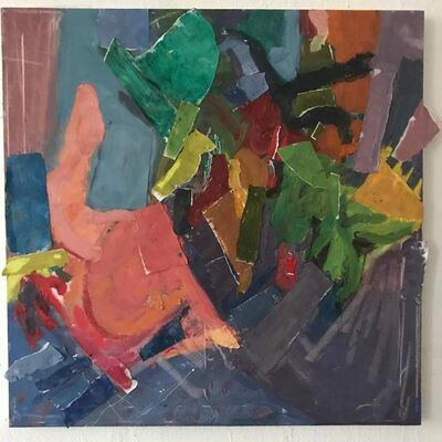 Audrey Cohn-Ganz, 'Figure and Interior Foliage', 2017