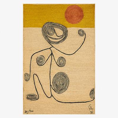 After Alexander Calder, 'Wall-hanging tapestry (Swirling Figure)', 1975