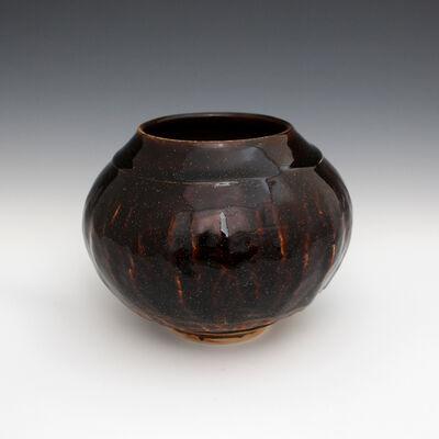 Danucha Brikshavana, 'Tenmoku Gold Vase', 2019