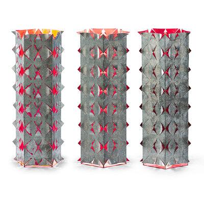 Richmond Burton, 'Rose Lanterns (Prototypes, A, B and C)', ca. 1992