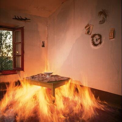 Bernard Faucon, 'La chambre qui brûle', 1981