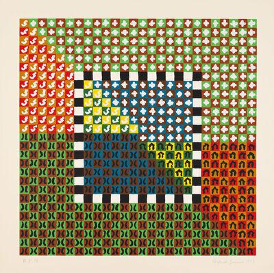 Alfred Jensen, 'Portfolio (Solar Years of 360 Days) (#3)', 1973