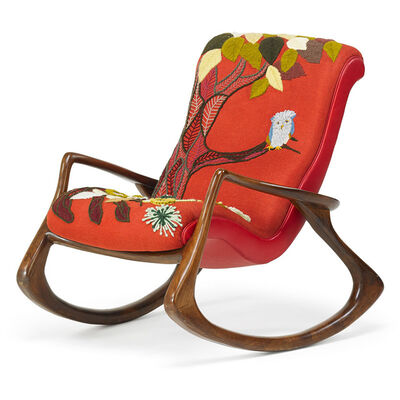Vladimir Kagan, 'Rocking chair, New York', des. 1950s-manufactured 1980s