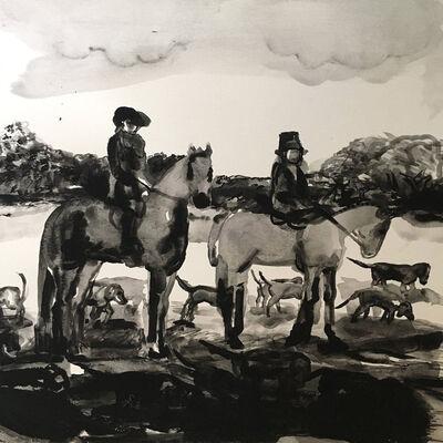 Suzy Spence, 'Untitled Hunt Scene', 2017