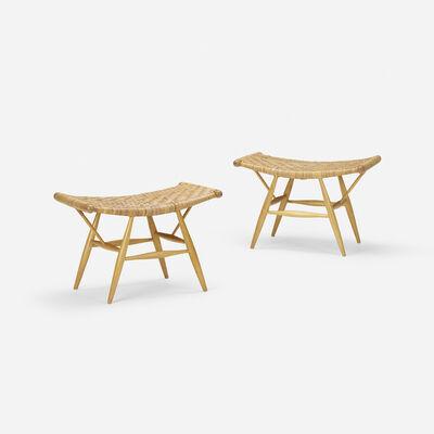 Ilmari Tapiovaara, 'Rare stools for Rauma-Repola Company', 1955
