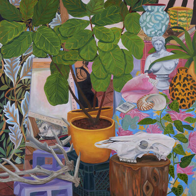 Anna Valdez, 'Self-Portrait in Studio', 2019