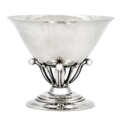 Georg Jensen, 'Georg Jensen Sterling Silver Compote, Pattern No. 6, designed by Johan Rohde', Early 20th century