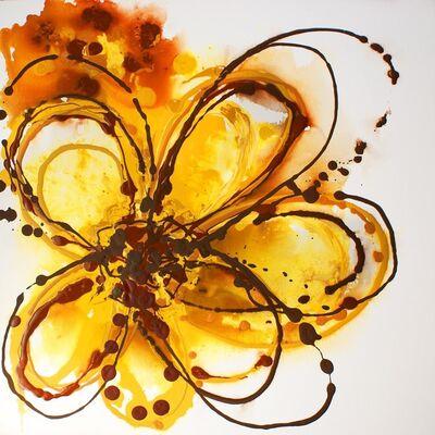 Irena Orlov, 'Yellow Abstract Splash', 2014