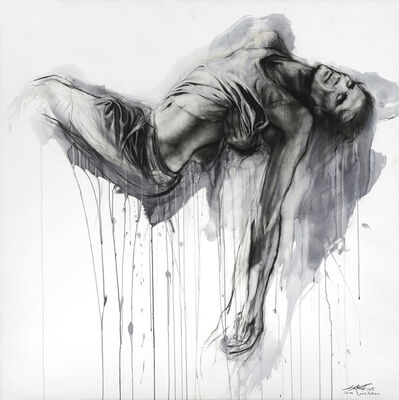 Ernest Pignon-Ernest, 'Si je reviens XXII', 2015