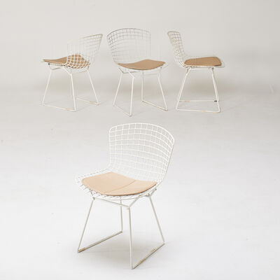 Harry Bertoia, 'Four side chairs', 1980s