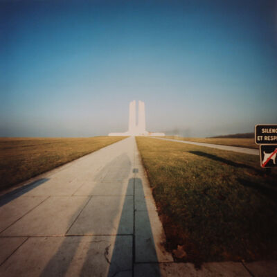 Dianne Bos, 'Vimy Ridge Memorial, Shadow', 2003