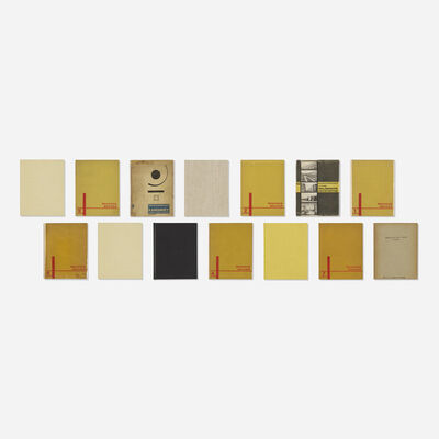 Walter Gropius, 'Bauhausbucher, set of fourteen', 1925-1930